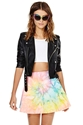Unif I Dye Skirt Shop 24 Hour Party People At Nasty Gal