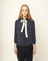 Winter Moon Bow Blouse You Must Create Ymc