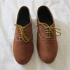 Pony Oxfords Suede 7c Golden Ponies