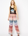 Love Love Aztec Print Trousers At Asos