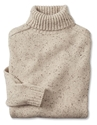Men's Turtleneck Sweater Wool Cashmere Donegal Turtleneck Orvis