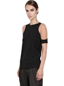 Trendt Devore Shoulder Viscose Top Luisaviaroma Luxury Shopping Worldwide Shipping Florence