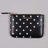Comme Des Garcons Wallets Polka Dot Print Sa8100pd Black