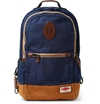 Product Rag Bone Burnished Leather And Nylon Canvas Backpack 394952 Mr Porter