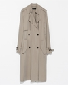Long Flowing Trench Coat Coats Woman Zara United States