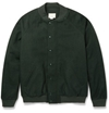 Band Of Outsiders Brushed Wool And Cotton Blend Bomber Jacket