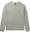 Naked Famous Mid Grey Slimcrew Vintage Sweater Hypebeast Store. Shop Online For Men's Fashion Streetwear Sneakers Accessories