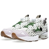 Reebok X Garbstore Pump Fury Stucco Grey Green