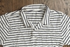 Save Khaki Polo marine stripe white navy