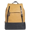 Ally Capellino Dean Rucksack Mustard 26 Black 