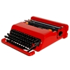 Revitalized Red Olivetti Valentine Typewriter par TheAntikeyChop