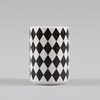 Ferm Living Geometry Cup 4 Black White