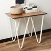 Triangle Base Side Table White West Elm
