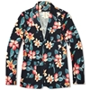 Sophnet. 2 Button Blazer Navy Flower Print
