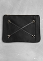 Satin clutch 7c Black 7c 26 Other Stories