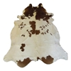 Cowhide Rug Brown And White Rugs Accessories Blue Sun Tree