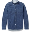 Acne Studios Isherwood Button Down Collar Denim Shirt