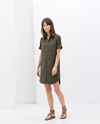 Poplin Shirtdress Dresses Woman Zara United States