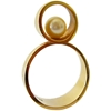 1960'S Just Andersen Gold Pearl Ring At 1Stdibs