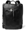 Maison Martin Margiela Leather Backpack With Detachable Pouch Mr Porter