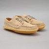 Quoddy Classic Maliseet Oxford Sand Suede 2f Honey Crepe Sole 7c Oi Polloi