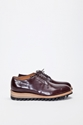 Yuketen Plain Toe Ripple Sole Brown TR c3 88S BIEN