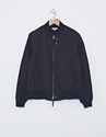Engineered Garments Aviator Cotton Twill Jacket Navy Nitty Gritty Store