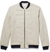 Hentsch Man Woven Cotton Bomber Jacket Mr Porter