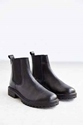 Silence Noise Treaded Leather Ankle Boot Urban Outfitters