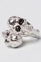 Soho Collection The Skull Wrap Ring 3a Karmaloop com Global Concrete Culture