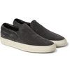 Common Projects Suede Slip On Sneakers Mr Porter