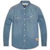 Barbour Steve Mcqueen Terrence Shirt Heavy Stone