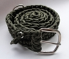 550 Paracord Survival Belt Olive Drab with by SurvivorGeek