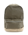 Khaki Nylon Backpack A.P.C.