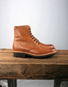 Grenson Hadley Derby Boot Tan 2f 2f AW12 Grenson Hadley Derby Boot with Commando Sole in Tan Calf Leather