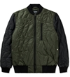 Christopher Raeburn Olive Black Quilted Bomber Jacket Hypebeast Store. Shop Online For Men's Fashion Streetwear Sneakers Accessories
