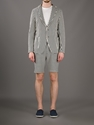 Daniele Alessandrini Striped Two Button Blazer Mantovani Farfetch com