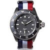 Mwc 21 Jewel 300M Auto Submariner Watch Tricolore Nato Strap