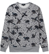 Commune De Paris Marl Grey Birdy Sweater Hypebeast Store