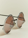Issey Miyake Silver Conical Glasses 7c AnOther Loves