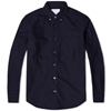 Nanamica Button Down Wind Shirt Navy
