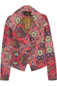 Vivienne Westwood Anglomania Whisper Printed Stretch Cotton Jacket Net A Porter.Com