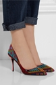 Nicholas Kirkwood Mexican Embroidered Patent Leather Pumps Net A Porter.Com