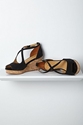 Crisscrossed Cork Wedges 2c Black 7c Anthropologie eu