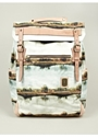Master piece x Nowartt Collaboration Series Landscape Print Backpack oki ni
