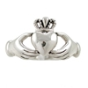Amazon.Com Irish Friendship Love Band Celtic Claddagh Ring In Sterling Silver Sizes 5 6 7 8 And 9 2601 Taos Trading Jewelry Jewelry