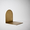 Mjolk Book Stopper In Brass Bookend 80050