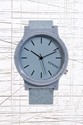Komono Fat Wizard Watch In Flecked Grey At Urban Outfitters
