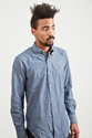Our Legacy 1950 27s Shirt Quilted Dot Chambray TR c3 88S BIEN