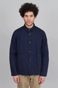 Folded Jacket Navy Broken Twill 7c Sale Outerwear